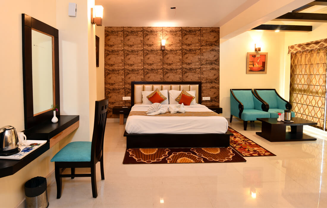 Maharaja Single room at hotel dynasty resort nainital